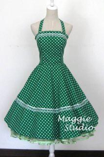 50er Jahre Tanz Kleid z. Petticoat Rockabilly +SOFORT+