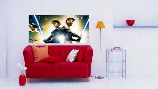 Wandtattoo Star wars Clone wars neuster Art ca120x50cm 504