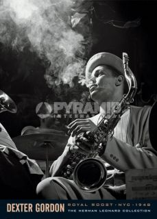 Dexter Gordon Herman Leonard Music Poster 36x24 NEW