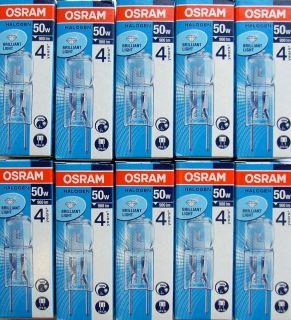 10x Osram Stiftsockellampe Halostar Starlite 64440s GY6,35 12V 50W