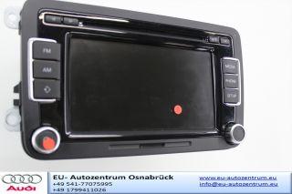 VW MP3 6fach CD Wechsler Radio RCD 510 Weltradio 5K0035190