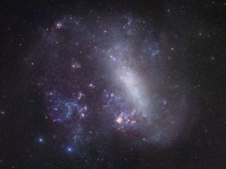 The Large Magellanic Cloud Distance Is 163,000 Light Years Photographic Print by Robert Gendler