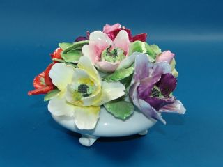 Royal Adderley  Floral Bouquet  Fine Bone China England (A516