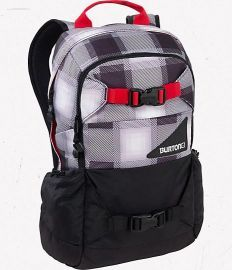 Burton Day Hiker Pack True Black Bobber Plaid Rucksack 20 L 2012