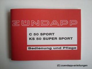 Zündapp C 50 Sport, KS 50 Super Sport Typen 517, KS50, C50