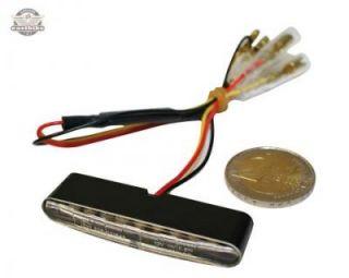 LED Mini Ruecklicht Stripe E geprueft Motorrad Quad ATV Streetfighter