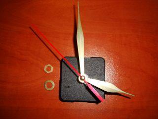 Clock Mechanism Movement Motor Repair Kit Quartz 1 cm Spindle