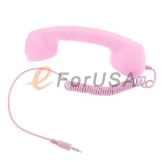 Retro Cell / Mobile Phone Handset HD Mic 3.5MM Pin for iPhone / iPad