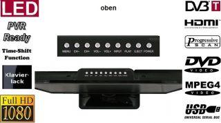 LED TV 22 Zoll 56cm LCD DVD MPEG4 USB Full HD DVB T 12V 4260001036453