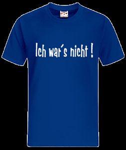 Shirt Spaß Sprüche FUN Shirt versch. Größen + Farben 10 534