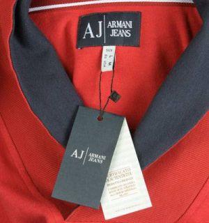Armani Jeans Sweat Shirt Sweatshirt longsleeve Pullover rot S M L XL