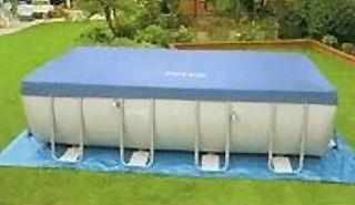Intex Abdeckplane 549 für Ultra Frame Pools NEU
