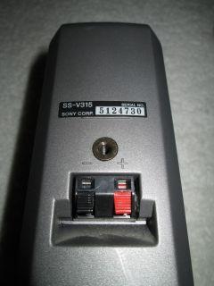 Sony SS V315 – Boxen / Lautsprecher   Top Zustand
