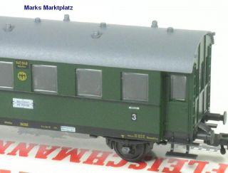 H0 Personenwagen 3. Kl. DRG Fleischmann 5003 NEU OVP