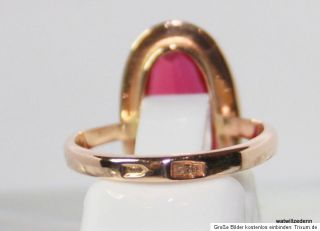 Gold Ring,Rotgold,Rosegold 585 / 583 russischer Goldring RG.50 15,9 mm