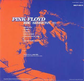 PINK FLOYD BBC SESSIONS 70 MINI LP CD OBI