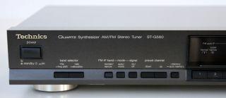 Technics ST G560 class AA Stereo Tuner Top Zustand