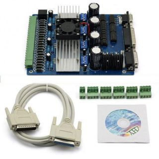 New CNC TB6560 3.5A 4 Axis Stepper Motor Driver Board Controller