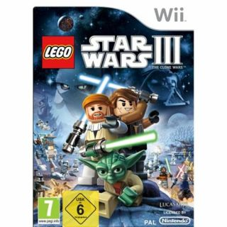 LEGO Star Wars III (3)   The Clone Wars **Nintendo Wii NEUWARE