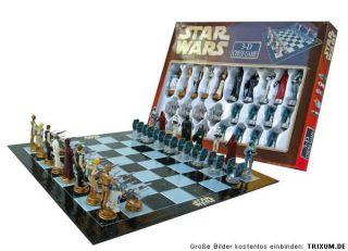 Star Wars CLONE Wars Chess Figuren Schach Spiel Brett