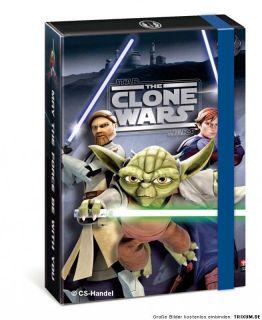 Star Wars Clone Box Sammelbox Heftbox Mappe Stehsammler