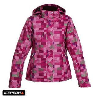 Icepeak Kerttu Damen Skijacke Jacke Snowboardjacke pink 36