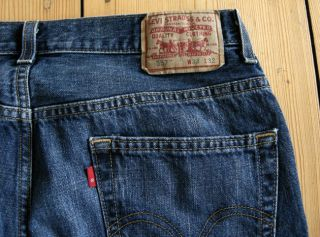 Levis 557 Jeans   Denim   Relaxed Boot   Size 33x32   Barely Worn