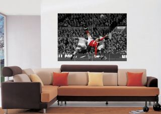 Wayne Rooney Over Head Kick Manchester United Giant Wall Art Poster
