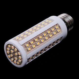 220V E27 5.5W 112 LED SMD Corn Light Bulb Warm White