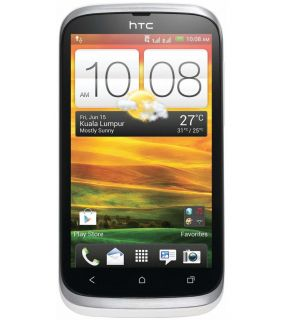 HTC Desire V T328w Dual Sim Android 4.0 Mobile Phone White
