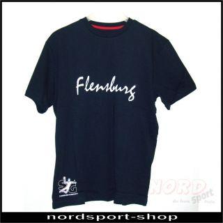 Flensburg Handewitt Handball Cross Chevron T Shirt, Gr XL  07 580 7237