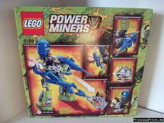 LEGO Power Miners Lavaläufer (8189) 7 14 Jahre NEU/OVP