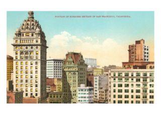 Business District, San Francisco, California Poster