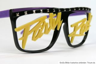 RaRe pArTY rOcK NeRd bRIllE 80eR JAhRE FlAT ToP GlAssEs FuN rEdFoO