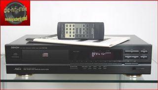 Denon DCD 595 CD Player TOPZUSTAND Inklusive FB & BDA WIE NEU