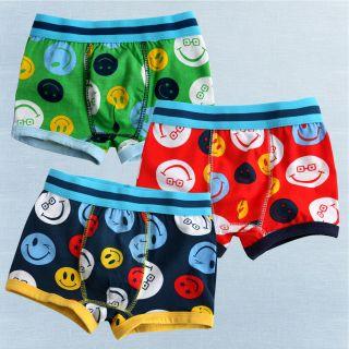 NEW Vaenait Baby Boy 3 pack of Underwear Boxer Briefs Set  Happy