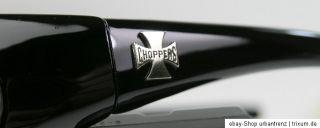 CHOPPERS Bikerbrille Motorradbrille NEU Anti Fog gepolstert Iron Cross
