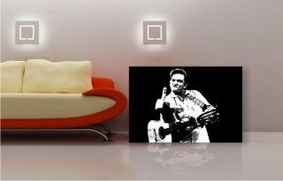 Bild Leinwand bild Kunstdruck Johnny Cash k Poster 305