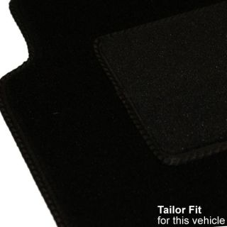 NISSAN FIGARO 91 00 EXACT FIT BLACK CAR FLOOR MATS 4PCE