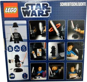 LEGO Star Wars Darth Vader LED Schreibtischleuchte  NEU