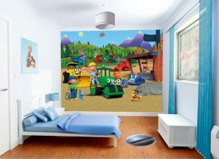 Walltastic® Kinderzimmer Kinder Wandtattoo Tapete Room Art Bob der