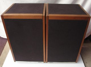 Edle Bose 601 Serie Direct Reflecting Lautsprecher Boxen Bj. 1977