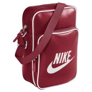 Nike Damen Tasche Heritage 76 Bowling Schultertasche rot