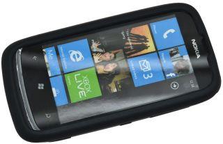 Nokia Lumia 610   Silikon Case Tasche Schutzhülle Hülle