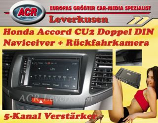 HONDA ACCORD CU2 RADIO NAVIGATION DOPPEL DIN, ZE NC620D, LFB, REAR