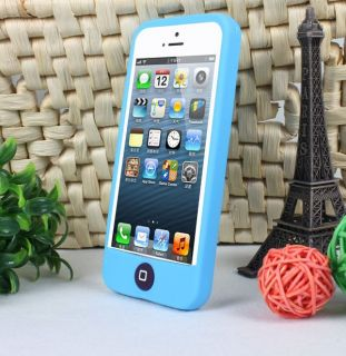 1PC New Fashion Peas Silicone Soft Case Cover For Apple iPhone 5 5th