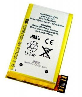 IPHONE 3GS AKKU BATTERIE ACCU 1219mAh LI ION POLYMER APN 616 0435