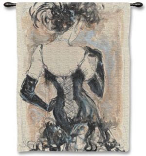 My Fair Lady II Wall Tapestry by Karen Dupré
