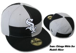 NEW ERA CAP CHICAGO WHITE SOX MIXER BLACK/GREY #634