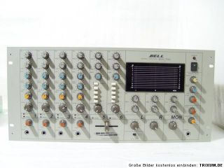BELL Amplifier 19 Power Mixer MDA 624 Professional Digital Delay/Echo